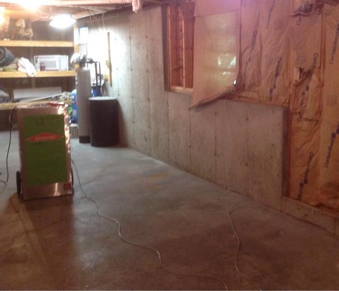 Sewer Backup in Basement After
