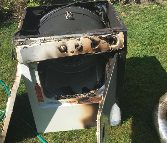 Dryer Damage During Fire