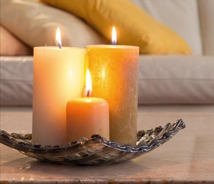 Fire Damage 5 Candle Safety Tips
